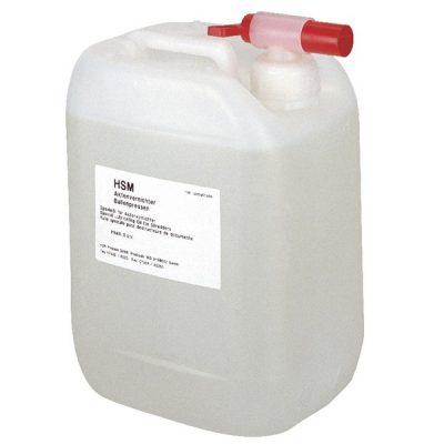Aceite para destructoras de papel HSM